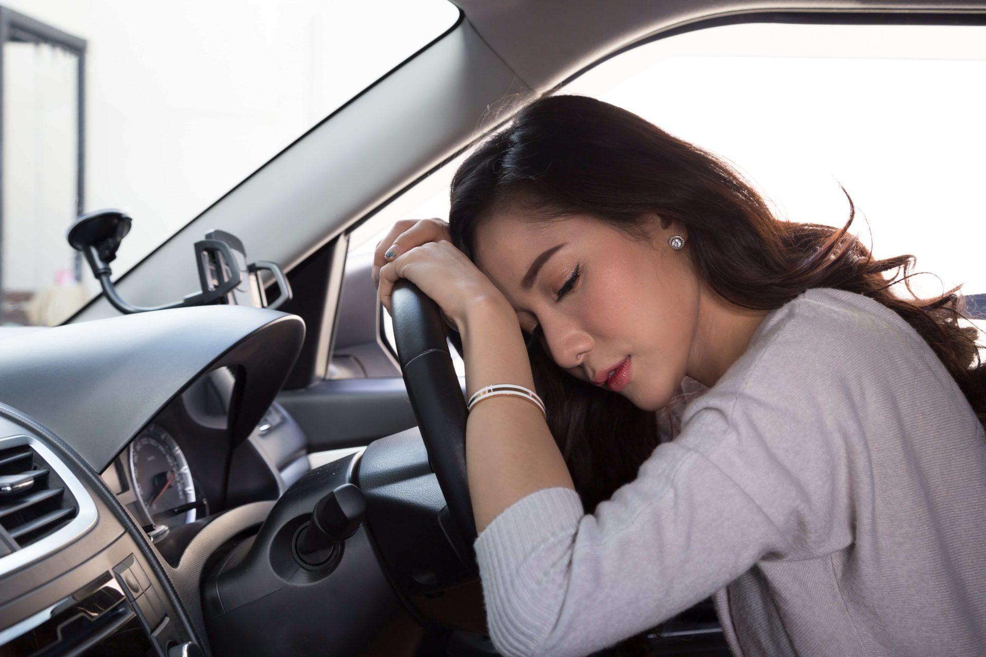 co w przypadku gorszego samopoczucia za kierownicą